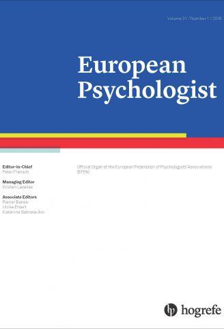 Recent Publications_EuropeanPsych